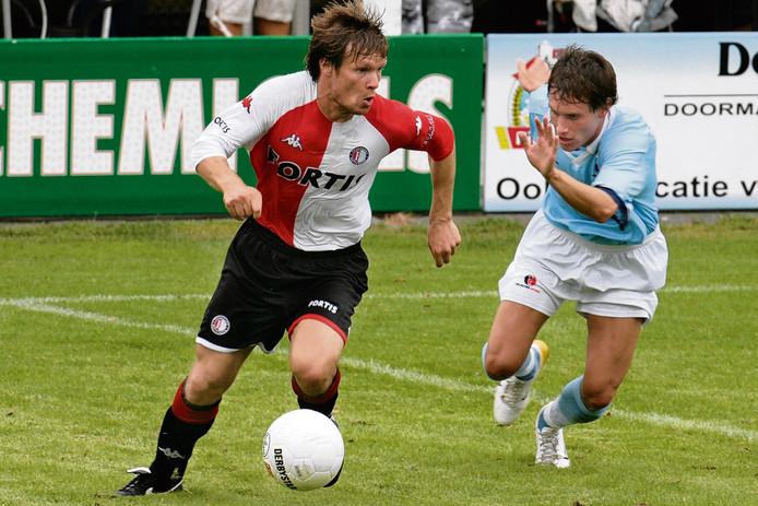 Joonas Kolkka in 2006 als speler van Feyenoord.