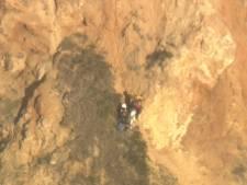 Une randonneuse coincée sur le flanc d'une falaise sauvée in extremis