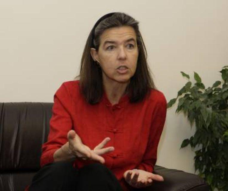 Dominque Mineur neemt als eerste vrouw de rol van Belgische ambassadeur in Saoedi-Arabië op zich. Beeld RV