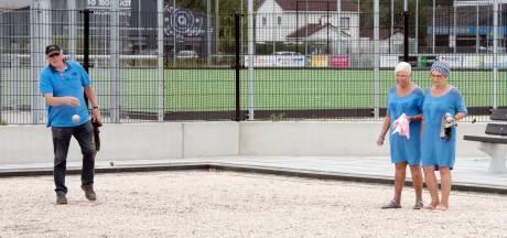 Nog even wennen aan nieuwe jeu de boulesbanen Harderwijk