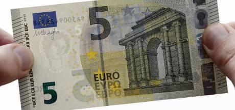 Jaar gevangenisstraf voor stelen vijfeurobiljet