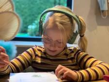 Linn (8) filmt smeekbede aan Mark en Hugo: 'Ik wil weer naar school'