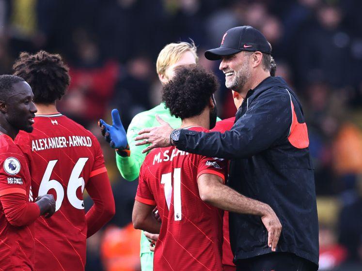 Liverpool geeft voetbalshow bij Watford
