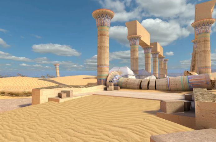 Enkele beelden uit het spel.