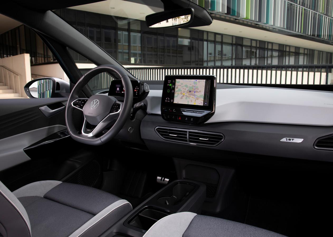 De elektrische Volkswagen ID.3