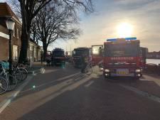 Brandweer Hasselt in actie voor Zwartewaterland Helpt