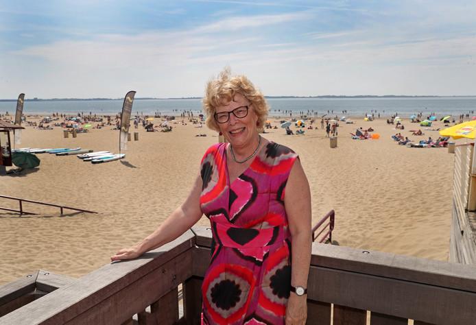 Oud-wethouder Westvoorne Marja Roza.