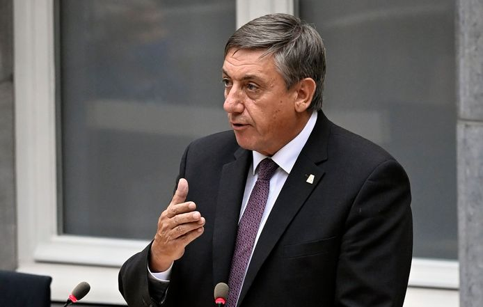 Jan Jambon, ministre-président flamand (N-VA).