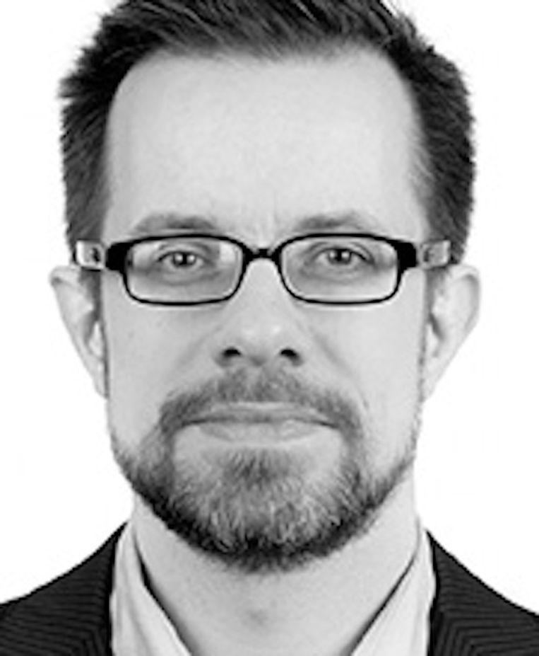 Jeroen Mirck, lid bestuurscommissie Nieuw-West Beeld Eigen foto