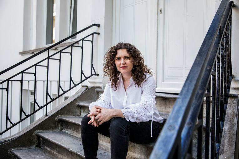 Tine Gregoor: 'Er is zoiets als een aanhoudende acceptatie van miskramen. 'Het hoort erbij', lijken we haast te zeggen.'  Beeld Geurts Aurélie