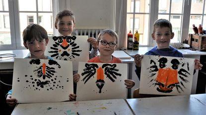 Kinderen leven zich creatief uit op Cultuurdag