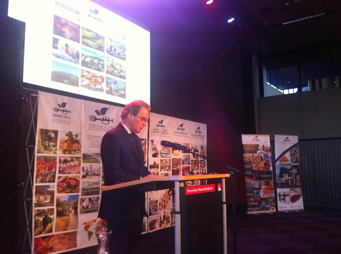 Burgemeester Rombouts presenteerde Brabant namens de provincie en Agrifood Capital
