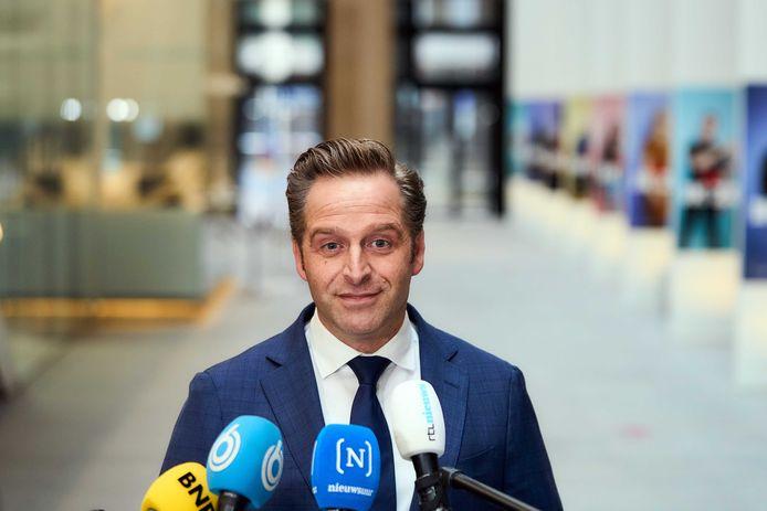 Demissionair minister Hugo de Jonge