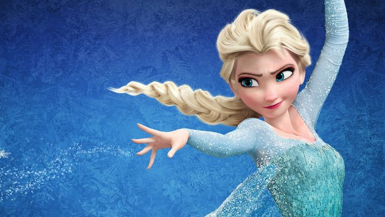 Elsa uit Frozen. Beeld disney