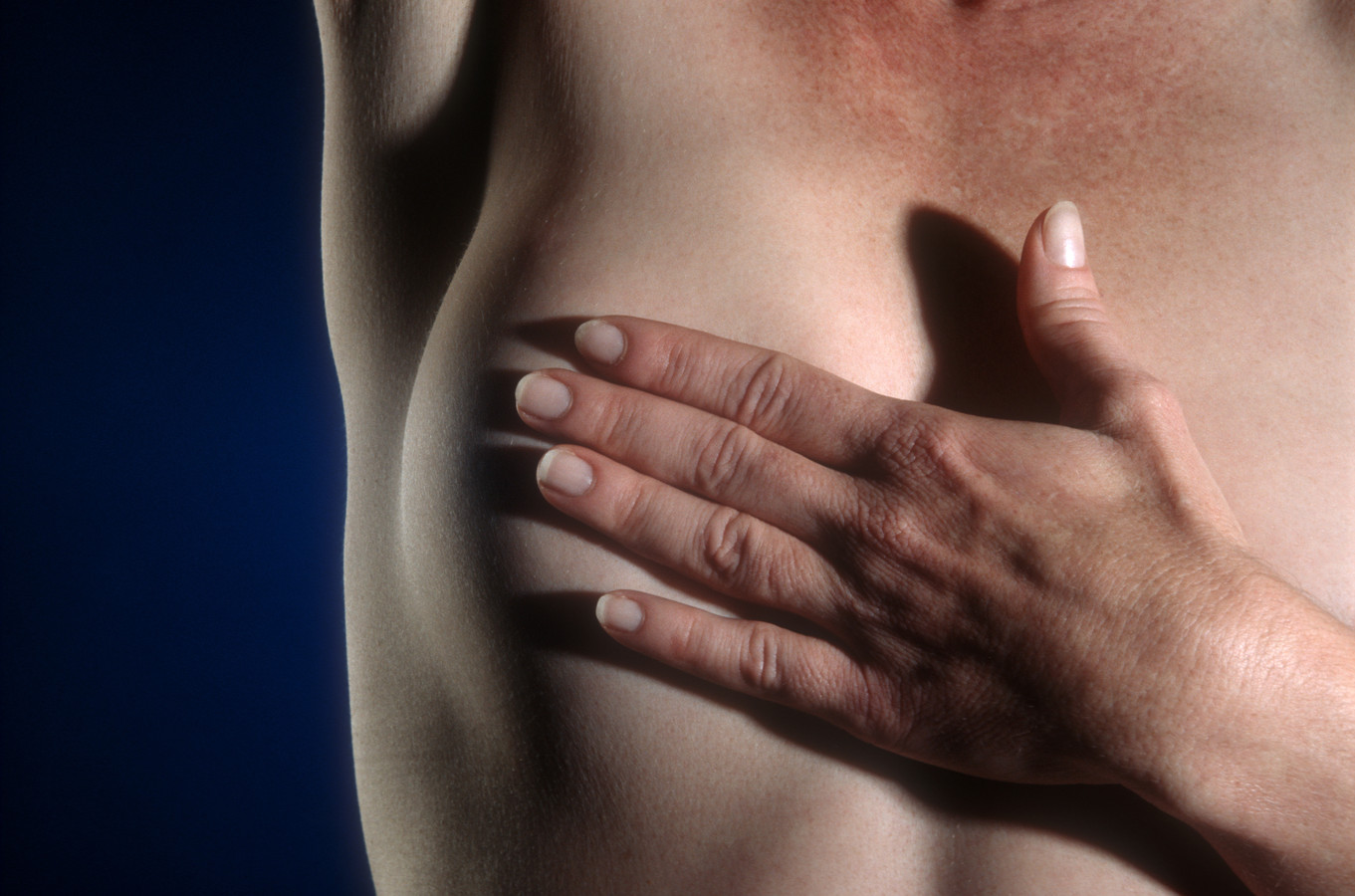 Self Breast exam, borstkanker onderzoek