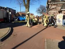 Vrouw krijgt handrem door wang na val met fiets in Hengelo