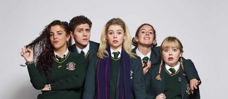 Derry Girls Beeld Hat Trick Productions, Channel 4