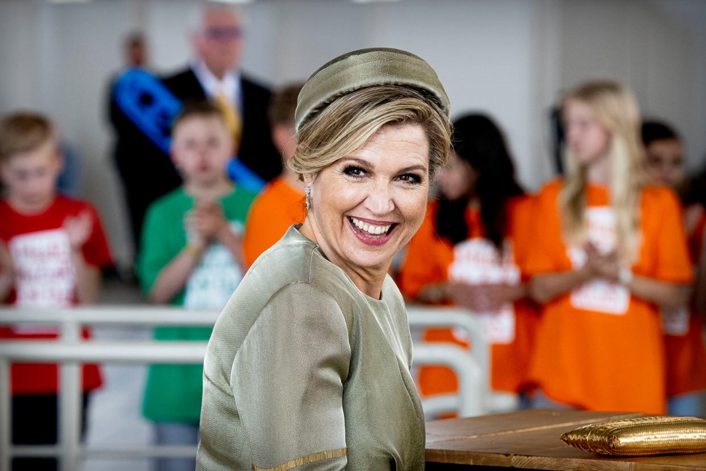 Dít kreeg koningin Máxima dit jaar voor Moederdag van haar dochters Beeld Brunopress/Patrick van Katwijk