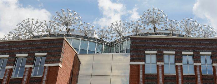 Het voormalige gebouw van de Stichting Leerplan Ontwikkeling aan de Piet Heinstraat.