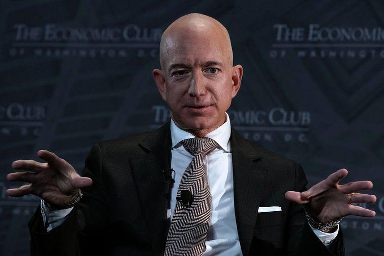 Jeff Bezos. Beeld Getty Images