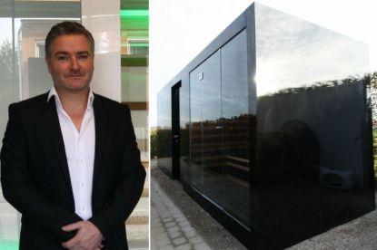 Is dit een sauna of een tuinhuis? Ex-kinesist uit Herentals pakt uit met primeur