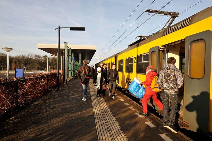 Station Reeshof is over twee jaar toegankelijk voor rolstoelers en anderen die slecht ter been zijn.