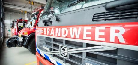 Grote brand in leegstaand café in centrum Veendam