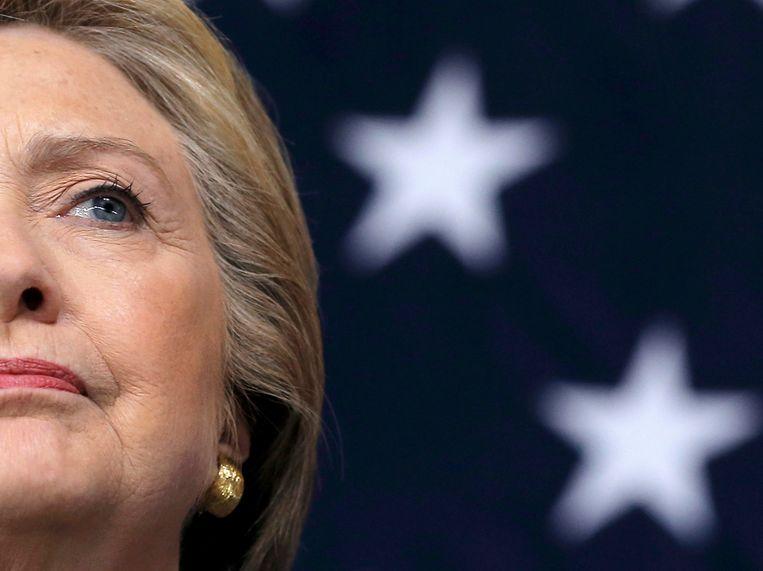 Democratisch presidentskandidate Hillary Clinton. Beeld REUTERS