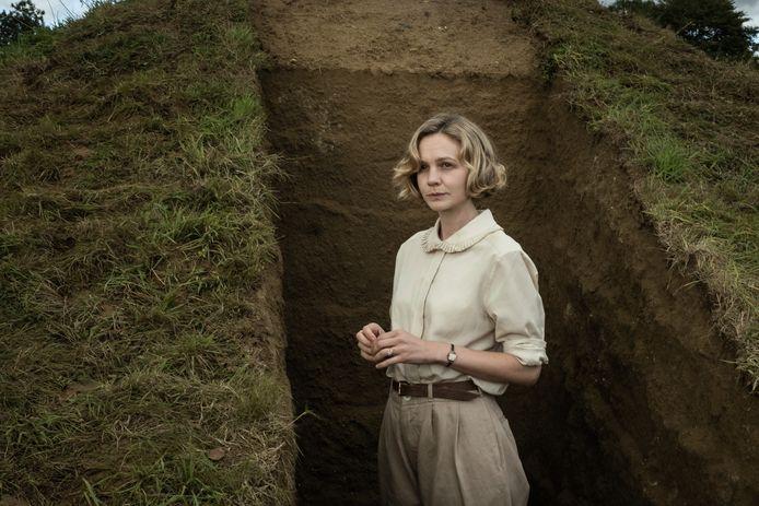De 35-jarige Carey Mulligan speelt in 'The Dig' de rol van Edith Pretty (56).