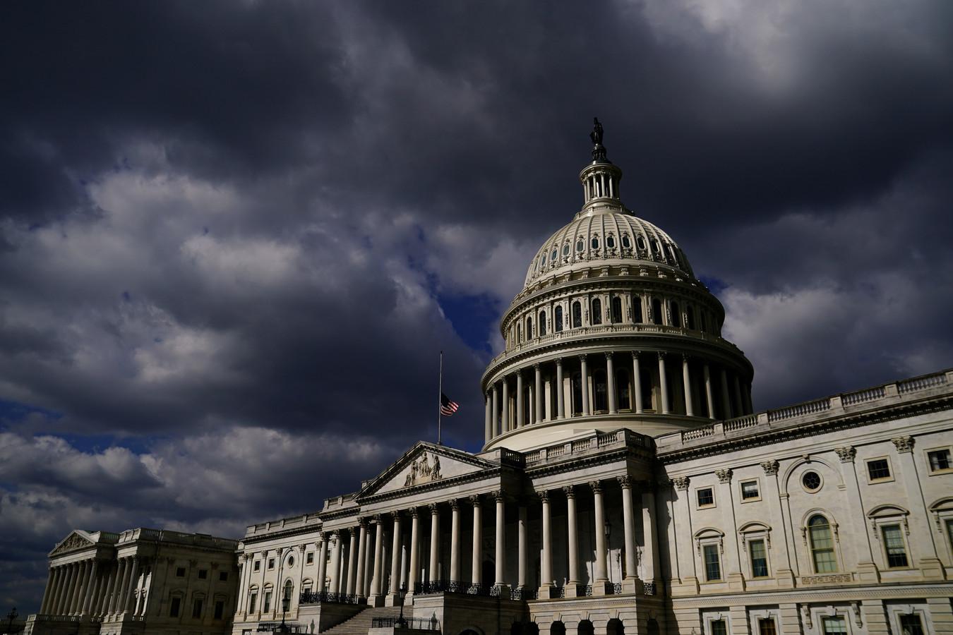 Het Amerikaanse Capitool in Washington.