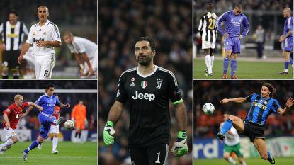 Neen, Buffon is niet de enige: ook deze topspelers konden de Champions League nooit winnen