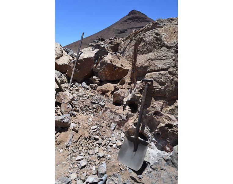 Kristalmijn in Gogobos, Namibië. Beeld Getty