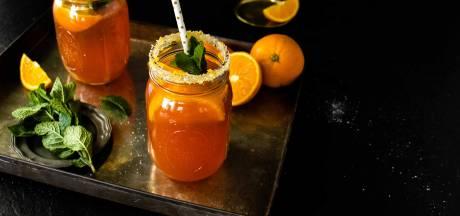 Wat Eten We Vandaag: Cranberry ginger beer mocktail