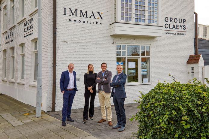 Immax heeft er een kantoor bij langs de Moerkerkse Steenweg in Brugge.