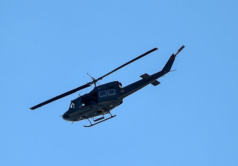 Een Colombiaanse legerhelikopter. Beeld AFP