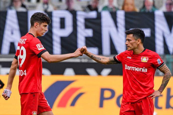 Dix buts et sept assists au cours de ses 15 derniers matchs: Kai Havertz met tout le monde d'accord en Allemagne.