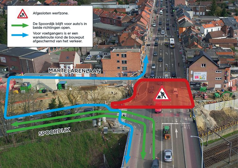 Voor het verkeer is er hinder op de Tiensesteenweg van 29 juni tot 15 juli.