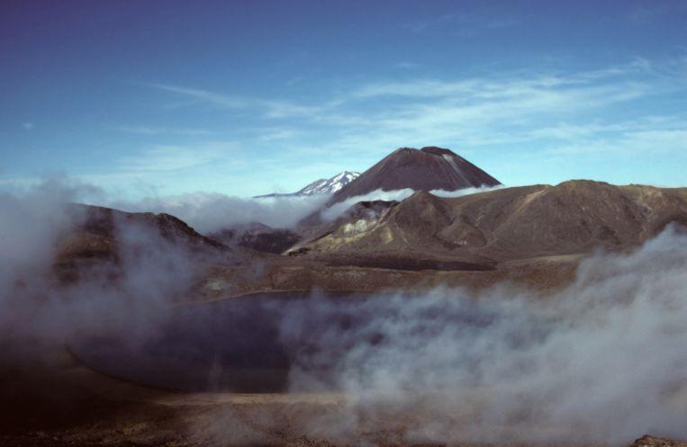 Het vulkanisch complex van Mount Tongariro. Beeld Thinkstock