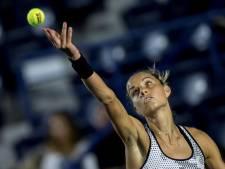 Rus laat Franse wild card-speelster ontsnappen en ligt uit Roland Garros