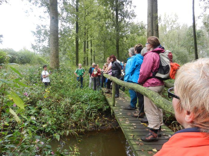 Grensbrug over 't Merkske, foto Joop van Riet