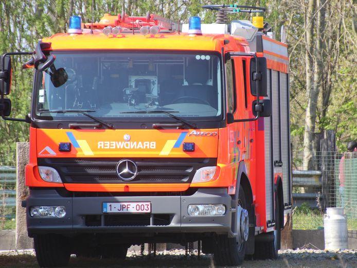 Brandweer Zottegem had het vuur snel onder controle.