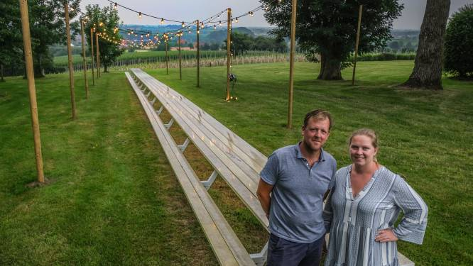 """De langste tafel van Vlaanderen staat in Westouter: """"De Toscaanse sfeer is nooit ver weg"""""""