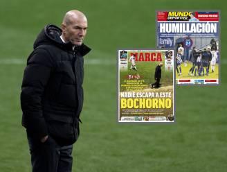 """Spaanse kranten zien exit naderen voor Zidane na nederlaag van de schande: """"Het einde van een cyclus"""""""