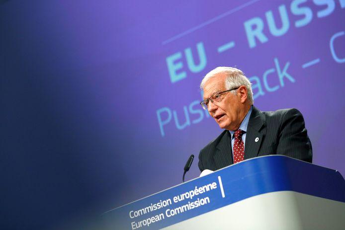 Buitenlandvertegenwoordiger voor de Europese Unie Josep Borrell.