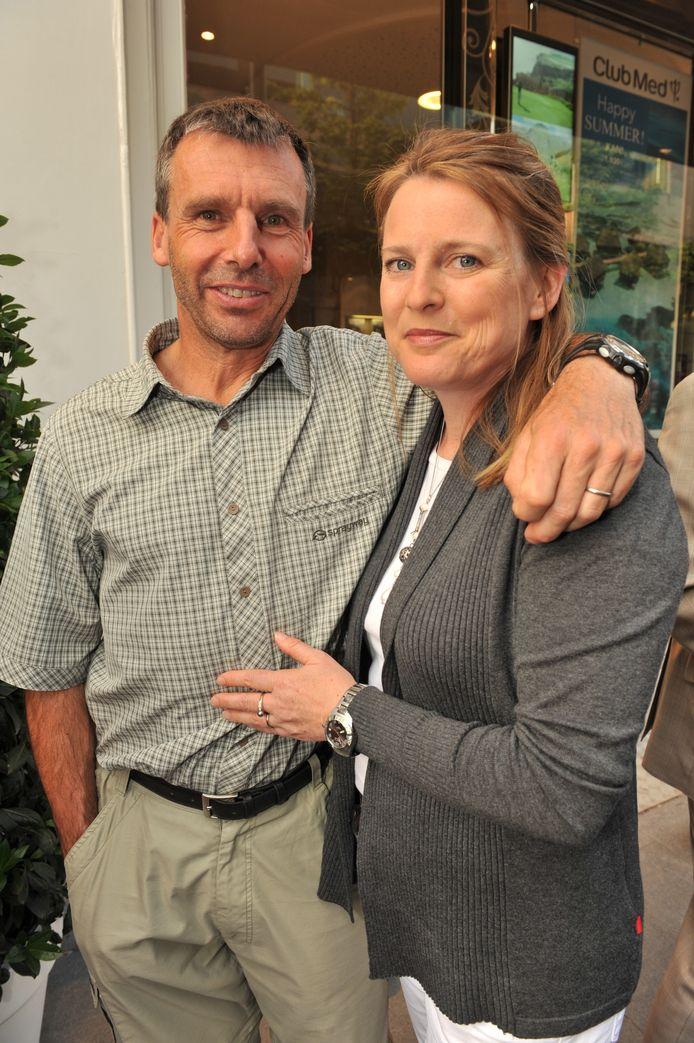 Dixie Dansercoer et son épouse Julie Brown