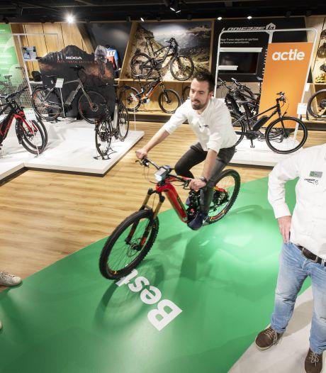 Demarrage van de e-bike bezorgt Leenders Bike Totaal in Hengelo handenvol werk