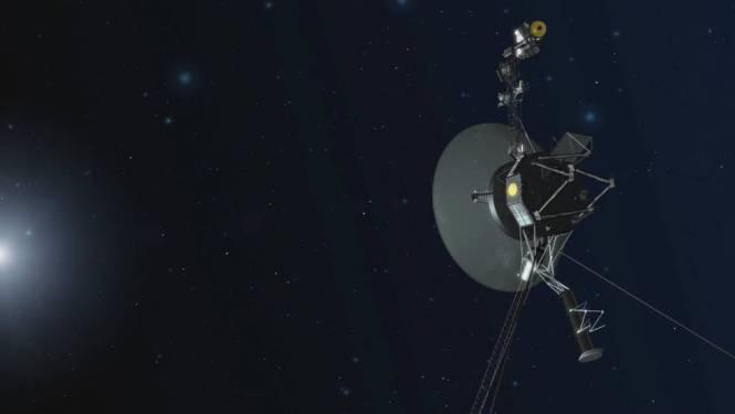 Ruimtesonde Voyager 1 zweeft na meer dan 40 jaar nog altijd rond, als verst van ons verwijderde object ooit door de mens gemaakt