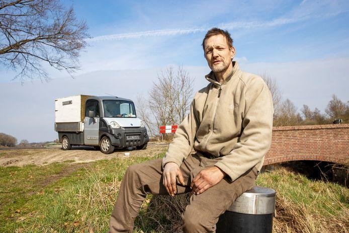 Victor Spijkerman verblijft inmiddels in een chalet op een camping in Valkenswaard.