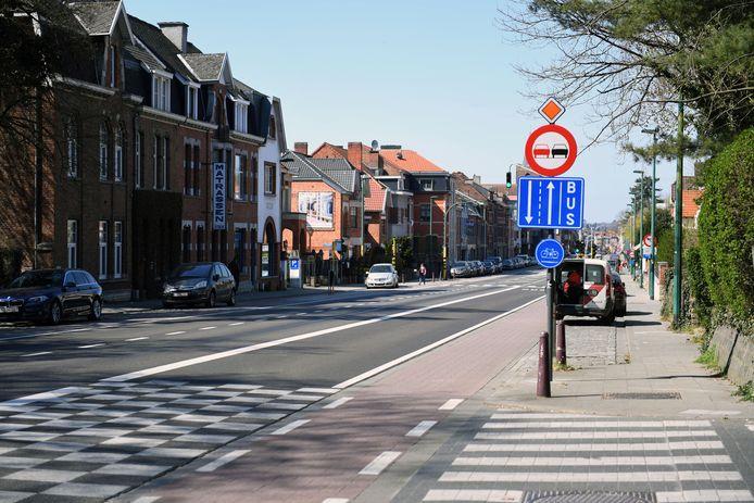 Tiensesteenweg in Heverlee