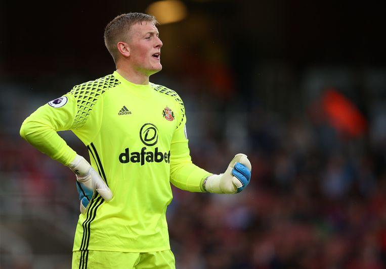 Everton kocht Sunderland-doelman Jordan Pickford voor 35 miljoen euro.